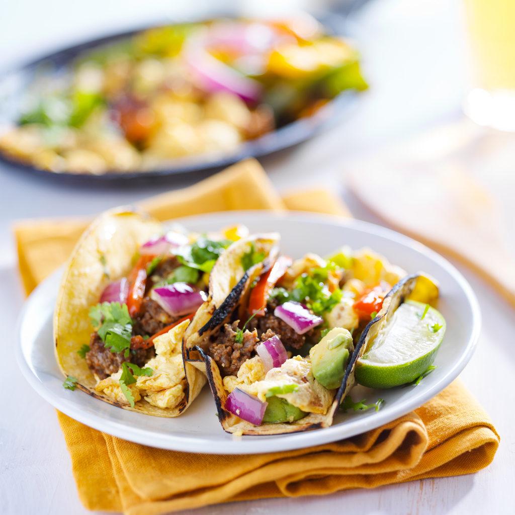 mexican breakfast tacos